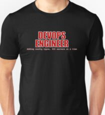 Devops Engineer (Red) Unisex T-Shirt