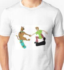 Friends who skate together stick together Unisex T-Shirt
