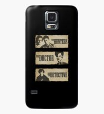 The Hunters, The Doctor and The Detective (Matt Smith version)  Case/Skin for Samsung Galaxy