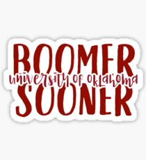 University of Oklahoma - Style 9 Sticker