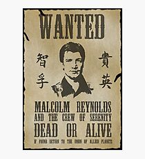 Wanted Captain  Photographic Print