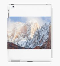 Hills over the clouds. iPad Case/Skin