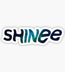 SHINee- Logo Galaxy Sticker