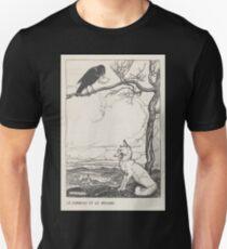 Aesop's Fables art by Arthur Rackham 1913 0026 The Fox and the Crow Unisex T-Shirt