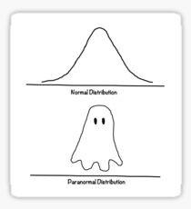 normal distribution Sticker