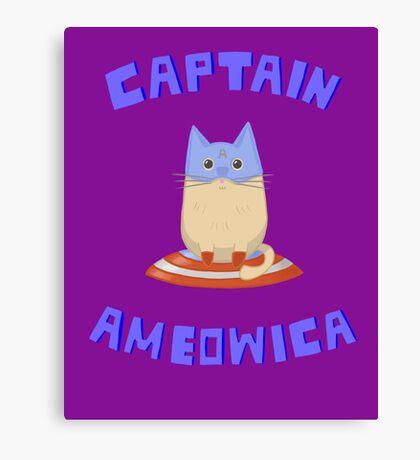Captain Ameowica Canvas Print