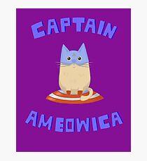 Captain Ameowica Photographic Print
