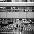 Covered Walkway, Hong Kong by Matthew Walters
