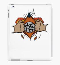 Super saiyan man tshirt iPad Case/Skin