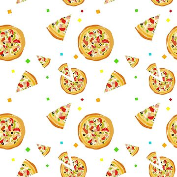 Delicious Pizza Pattern: Show your Love by zaktravel99