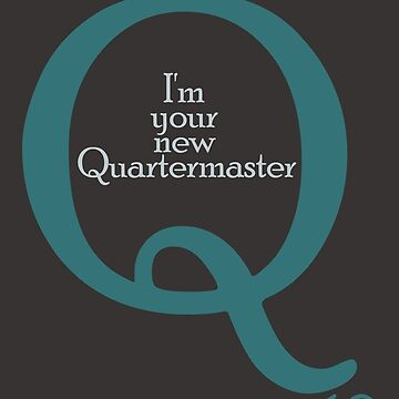 I'm your new Quartermaster Q10  in blue by morigirl