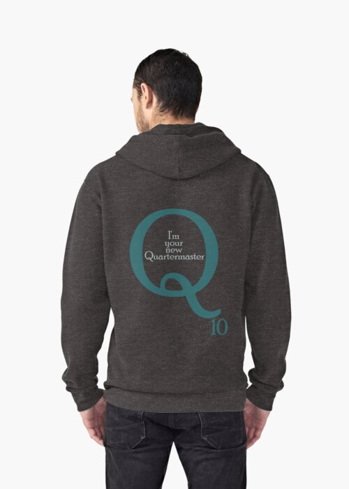 I'm your new Quartermaster Q10  in blue by Summer Iscoming