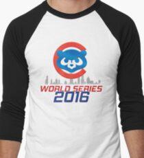 CHICAGO CUBS - WORLD SERIES CHAMPS 2016 Men's Baseball ¾ T-Shirt