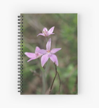 Fairy Pink Spiral Notebook