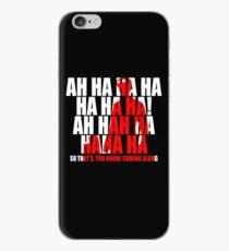 Dr Horrible Laugh  iPhone Case