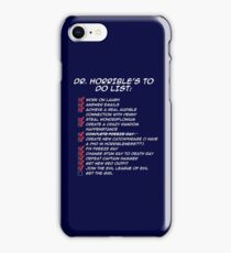 Dr. Horrible's To Do List  iPhone Case/Skin
