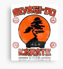Mr Miyagi t shirt - Miyagi Do Karate Canvas Print