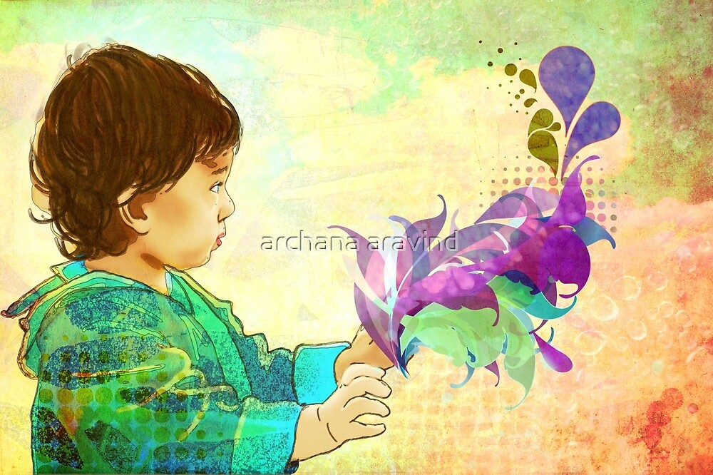 Adora- touch the beautiful purple by archys Design