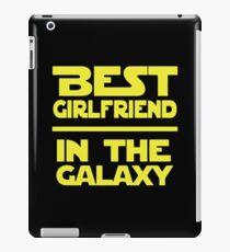 Best Girlfriend in the Galaxy iPad Case/Skin