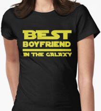 Best Boyfriend in the Galaxy Women's Fitted T-Shirt