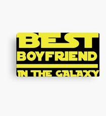 Best Boyfriend in the Galaxy Canvas Print