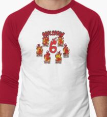 Beelzebub 6: The Many faces of the Prince of Darkness Men's Baseball ¾ T-Shirt