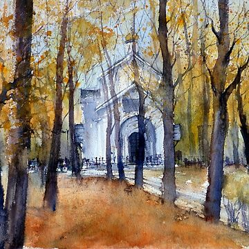 Autumn in Moscow, Russia by mishakuz