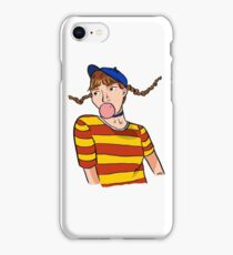 Dumb Dumb era Wendy iPhone Case/Skin