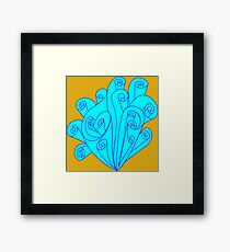 Fancy Scrolls Framed Print