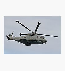 Royal Navy Merlin Helicopter Photographic Print
