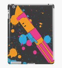 Darth Vader Lightsaber Paint Splatter (Full Color) iPad Case/Skin