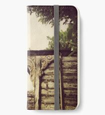 Detail, Hoe Cottage, Polruan iPhone Wallet/Case/Skin