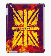 Spirit of '77 iPad Case/Skin