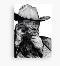 Western Rangefinder Raw Canvas Print