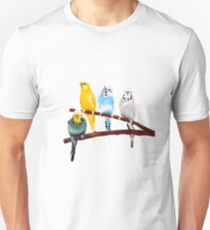 Four Budgies T-Shirt
