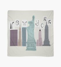 symbols of New York Scarf