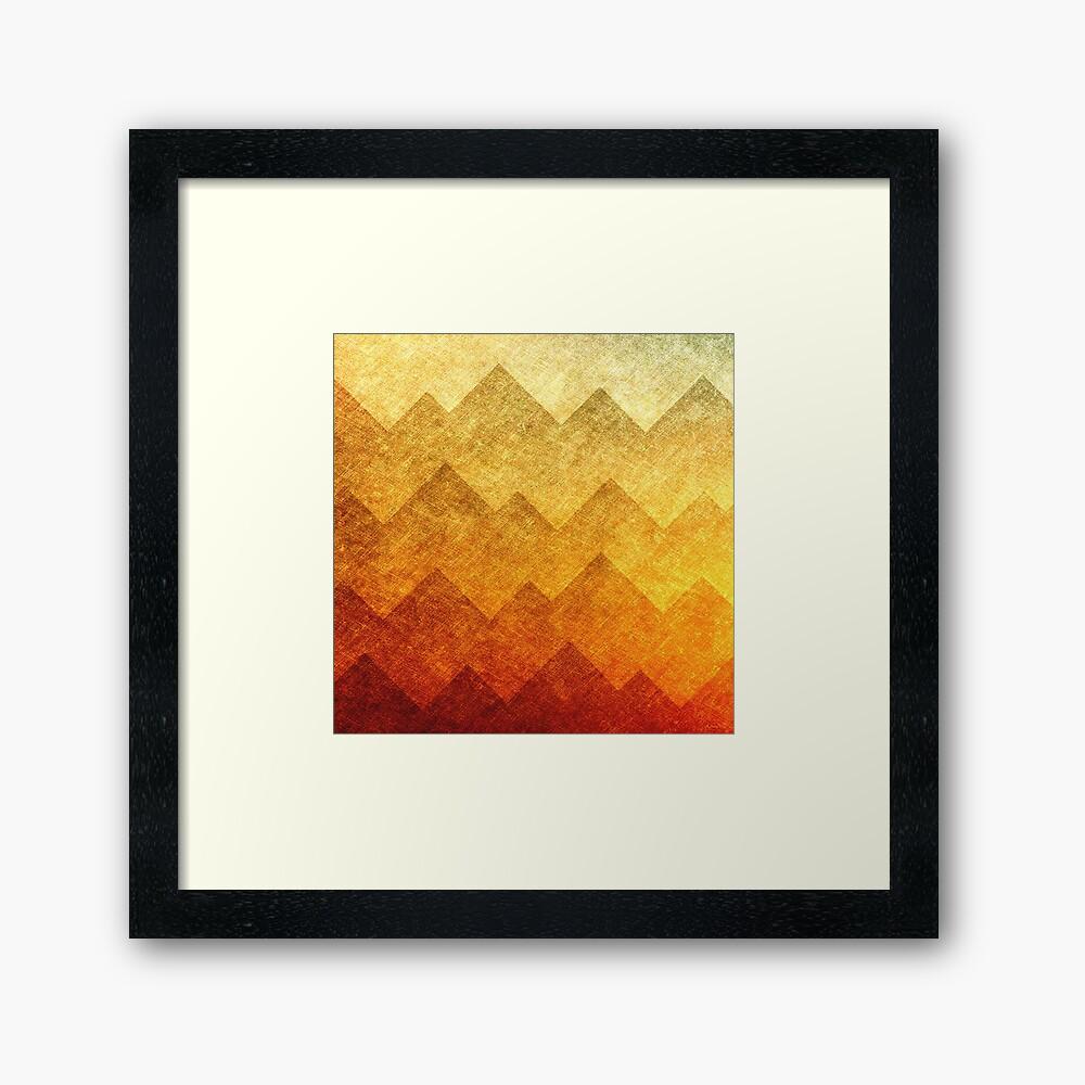 HillsHillsHills # 2 Framed Art Print