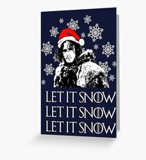 Let it snow - Christmas  Greeting Card