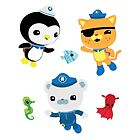 Octonauts, to your stations! by Fairfaxx
