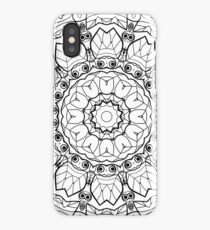 "Black and white pattern . ""Lola"" iPhone Case"