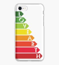 Lovearth rating iPhone Case/Skin
