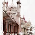 Brighton Pavilion Side View by Dorothy Berry-Lound