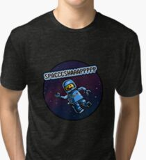 Spaceship Tri-blend T-Shirt