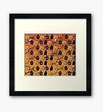 Halloween wallpaper Framed Print