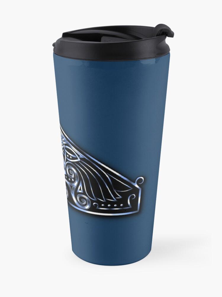 Alternate view of Celtic Raven Travel Mug
