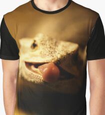 iguana tongue Graphic T-Shirt