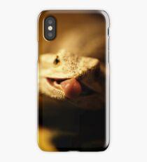 iguana tongue iPhone Case/Skin
