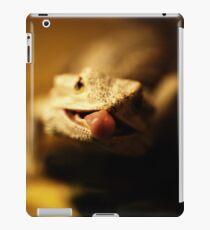 iguana tongue iPad Case/Skin