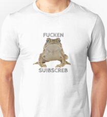 PEWDIEPIE SLIPPY FCKN SBSCRB Unisex T-Shirt