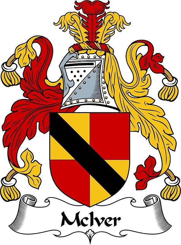 Quot Mciver Coat Of Arms Mciver Family Crest Quot Art Prints By